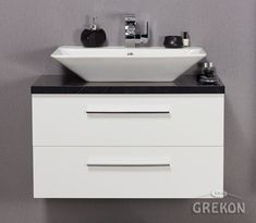 Classic Cabinets, Furniture Handles, Large Bathrooms, Granite Counters, Vanity Units, Simple Shapes, Bathroom Furniture, Basin, Drawers