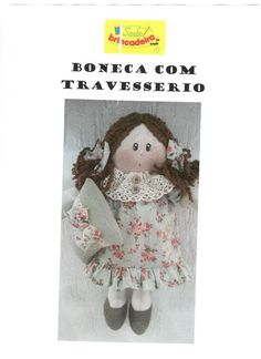 boneca com travesseiro 1 foto