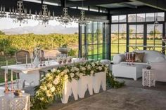 Ex Nihilo is a new and contemporary Wedding Venue in Paarl, the heart of the Western Cape Winelands. The venue is surrounded by established vineyards and an olive grove, with incredible views of the Simonsberg Mountain. Contemporary Wedding Venues, Dj Table, Ceremony Seating, 3d Printer Supplies, Wedding Function, Wedding Book, Wedding Ideas, Wedding Coordinator, Event Venues