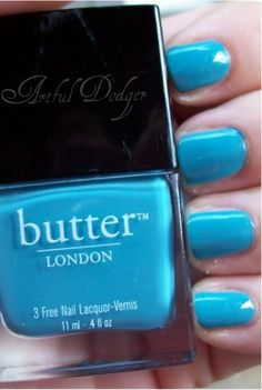 "Butter London - Artful Dodger  All Butter London nail-polishes are vegan, not tested on animals and ""3-free"" - no formaldehyde, no toluene, no DBP (dibutyl phthalate)"