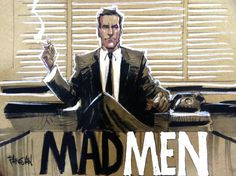 MAD MEN feat DRAPER by urban-barbarian.deviantart.com on @deviantART