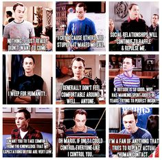 I see now why people tell me I'm Sheldon lol