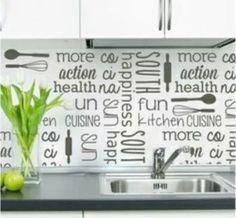 oferta vinilo decorativo empapelado pared cocina + envio $0