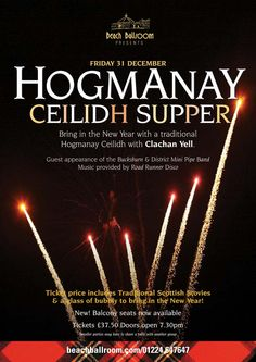 Hogmanay~First Night:Scotland tradition