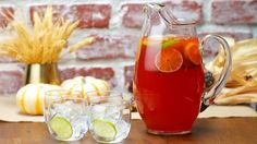Spiced Rum and Ginger Beer Punch