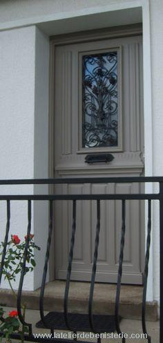 Gustavian grey door, porte gris gustavien