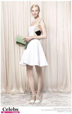 Alice + Olivia (Spring-Summer 2014) R-T-W collection at New York Fashion Week #Enly_Tammela, #Li_Ming