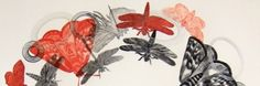 Clare Whitney studied Fine Art at The Royal Melbourne Institute of Technology, R.T, where she majored in painting. Art Programs, Source Of Inspiration, Art Object, Bird Art, Printmaking, Claire, Birds, Shapes, Illustrations