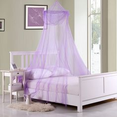 Shop for Raisinette Kids Collapsible Hoop Sheer Bed Canopy. Get free delivery On EVERYTHING* Overstock - Your Online Kids Bedding Store! Get in rewards with Club O! Casablanca, Mosquito Net Bed, Kids Bed Canopy, Teen Girl Bedrooms, Space Furniture, Queen Size Bedding, Comforter Sets, Bed Sizes, Queen Beds