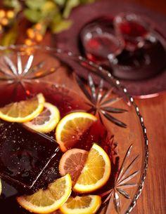 sangria Sangria  4 parts Clos du Bois Rouge wine 1 part Solerno blood-orange liqueur 1 part Bacardi Superior rum 1 part pineapple juice 1 part fresh lime juice 1 part fresh lemon juice One orange slice squeezed into each glass Freshly grated nutmeg in each glass