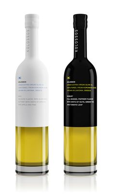 I love these bottle of Kolossos unfiltered olive oils.