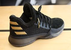 2a17cdf9469 adidas Harden Vol. 1 Black Gold. James Harden ShoesJames ...