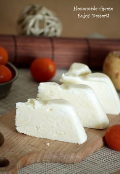 Homemade Cheese, Kefir, Cheese Recipes, Mozzarella, Feta, Dairy, Food And Drink, Cooking, Desserts