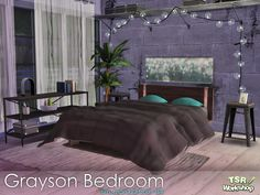 Sims 4 CC's - The Best: Bedroom by sim_man123