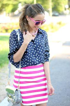 Polka dots & Stripes http://www.studentrate.com/fashion/fashion.aspx