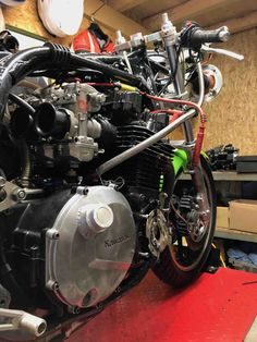 Kawasaki 1170, on the road to Bol d'OR Classic 2019