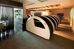 Now Sleeping Pods at Dubai Mall will add comfort for Tired Shoppers Airport Terminal 3, Dubai Airport, Dubai Mall, Travel Articles, Travel News, Sleeping Pods, International Holidays, Power Nap, Business Travel