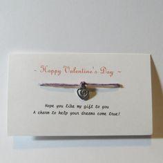 Free: ♥️ Valentine's Day *Make a Wish Bracelet* Purple* Friendship Gift ♥️  - Bracelets - Listia.com Auctions for Free Stuff