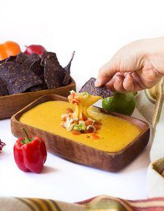 Vegan Nacho Cheese Sauce | glutenfreeveganpantry.com