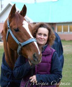 Weary racehorse comes home to tears, a hug.