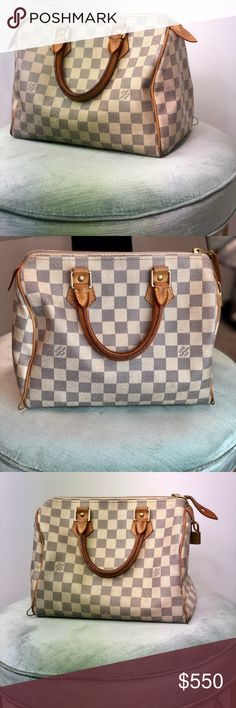 be60025fafc78 PRICE DROP--Louis Vuitton Damien Speedy 25 100% authentic Louis Vuitton  Speedy 25 •great condition •no odors •lock and key included •date code  shown in ...