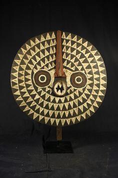 Online veilinghuis Catawiki: Afrikaans zon masker - BWA - Burkina Faso