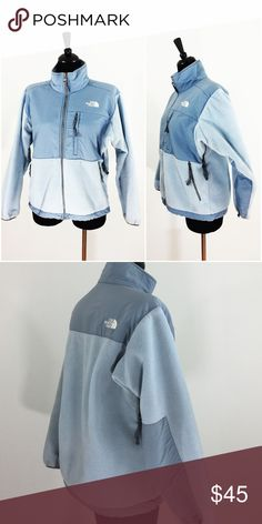 ⭐️THE NORTH FACE⭐️ LIKE NEW FLEECE JACKET I have only worn a jacket twice and it is in perfect condition. It has three zipper pockets on the front and zippers under the armpits for ventilation.  100% authentic The North Face Jackets & Coats