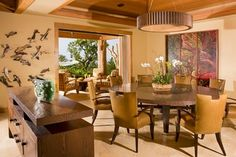 Dining Room Tropical Saint Dizier Design This Is A