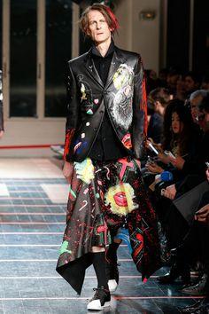 Yohji Yamamoto | Fall 2014 Menswear Collection | Style.com