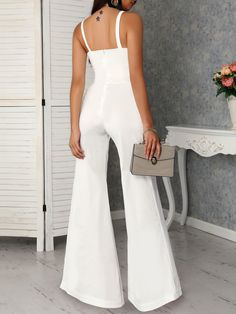 BSTBUWIN Womens Boho Two Piece Beach Off The Shoulder Belted Palazzo Pants