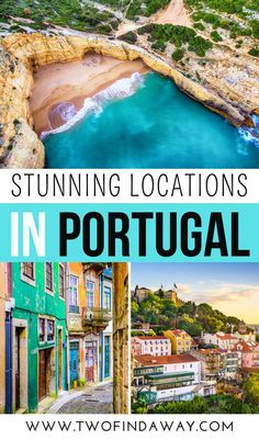 Portugal is filled with amazing locations and beautiful places you need to see for yourself when you visit Portugal. Prettiest Spots in Portugal You Need to Visit I Where to Go in Portugal I Portugal Itinerary I Things to do in Portugal I Best Locations in Portugal I What to Do in Portugal I Porto Travel I Lisbon Travel I Douro Valley I Visit Algarve #portugal #porto #lisbon Portugal Travel Guide, Europe Travel Guide, Europe Destinations, Travel Guides, Visit Portugal, Spain And Portugal, Road Trip Europe, European Travel, Travel Inspiration
