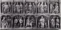 Sarcofago Giunio Basso, Grotte Vaticane
