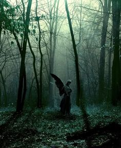 Engel im Friedhof