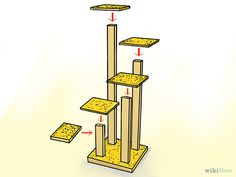 How to Make a Cat Tree: 15 Steps (with Pictures) - wikiHow