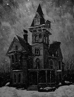 .Dark and stormy night...