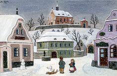 Zimní čas od Josefa Lady