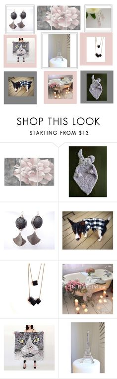 """Blush"" by therusticpelican ❤ liked on Polyvore featuring Stupell, Tela Beauty Organics, modern, contemporary, rustic and vintage"