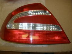 This Tail Light Is For 2003 ~ 2005 Mercedes Benz CLK350, Mercedes Benz  CLK500. The PictureUsed Car PartsTail ...