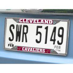 Cleveland Cavaliers NBA Chrome License Plate Frame