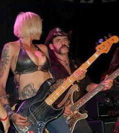 Lemmy Kilmister and Corey Parks