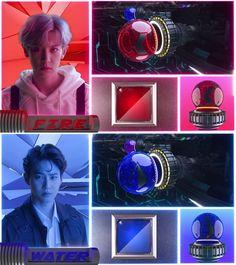 Trong teaser mới nhất được SM đăng tải, các thành viên EXO đã thu phục được cả cầu nắm giữ siêu năng lực của bản thân như: Chanyeol là quả cầu lửa, Suho là quả cầu nước,...