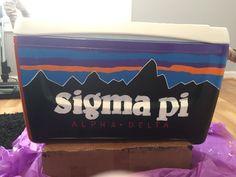 Sigma Pi Patagonia Fraternity Cooler