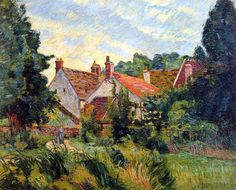 """Armand Guillaumin -        """"Epinay-sur-Orge"""", 1884"""