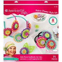 <div>This set is perfect for making headbands and hair clips reminiscent of the Great Depression...