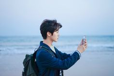 Luhan♥ remember the time when the 12 members of exo went to the beach