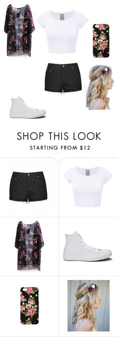 """""""flower"""" by a-hidden-secret ❤ liked on Polyvore featuring Ally Fashion, Converse, Mr. Gugu & Miss Go and Flower Gypsies"""