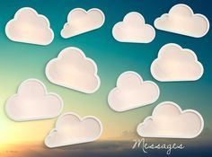 Get your head out of the clouds and make this lovely message page design for your yearbooks! Yearbook Pages, Yearbooks, Thinking Outside The Box, Page Design, You Got This, Teacher, Clouds, Messages, Make It Yourself
