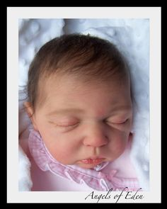 This is a DOLL.  Angels of Eden custom made reborn art doll