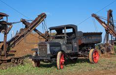 Image 4839205: Vintage Dump Truck from Crestock Stock Photos