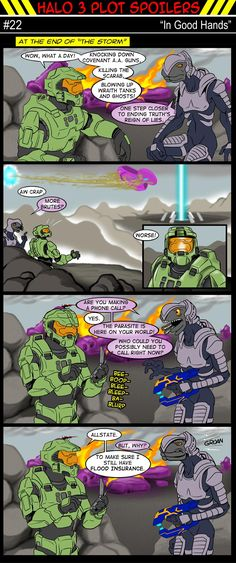 Halo comic #22 - In Good Hands